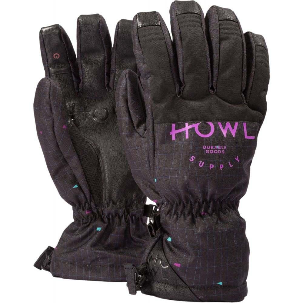 ハウル Howl メンズ スキー・スノーボード グローブ【Team Gloves 2019】Black