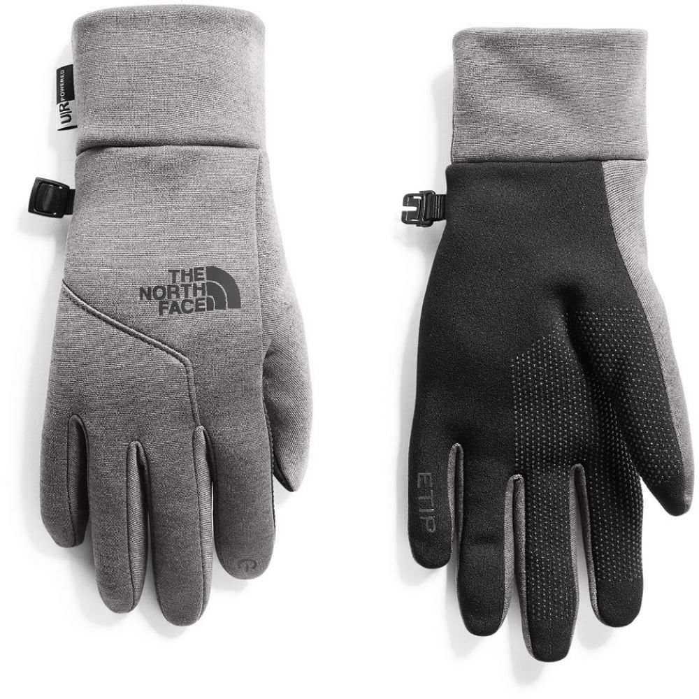 ザ ノースフェイス The North Face レディース スキー・スノーボード グローブ【E-Tip Gloves 2019】TNF Medium Grey Heather