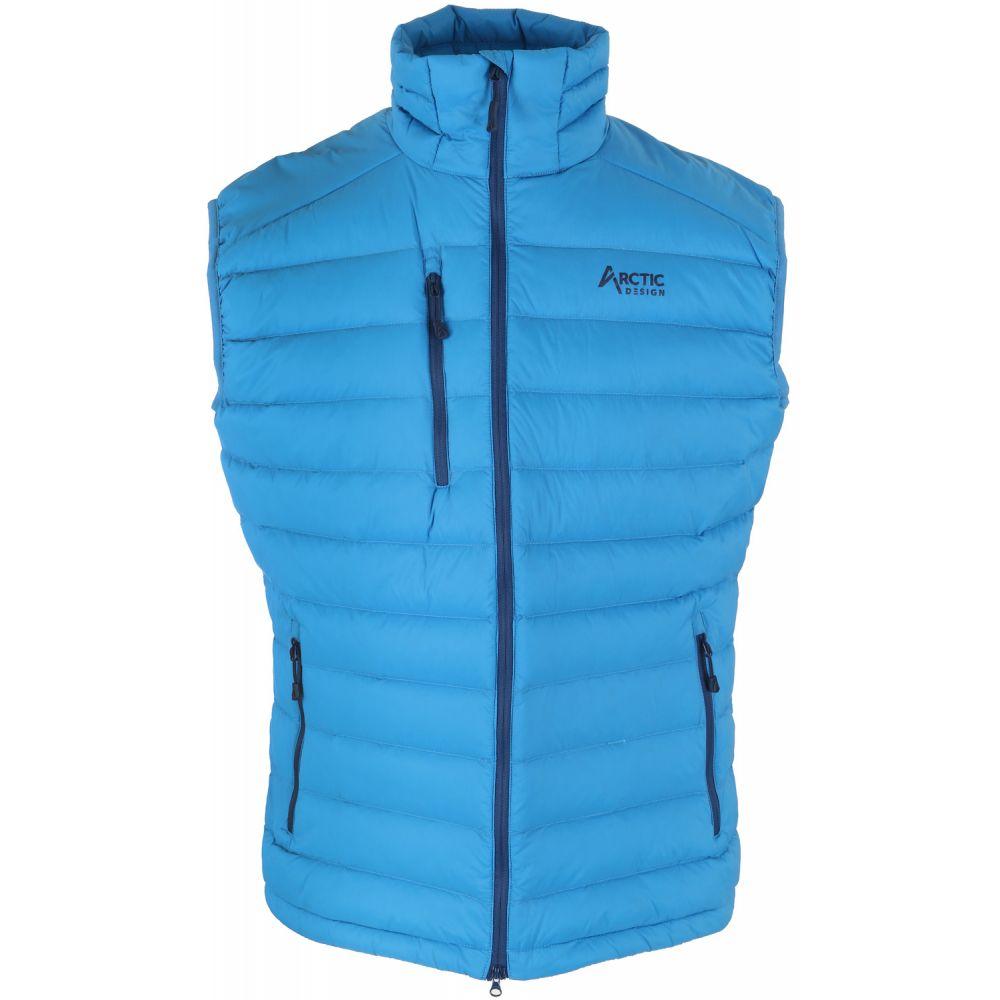 アークティックデザイン Arctic Design メンズ スキー・スノーボード トップス【Reskow Down Vest】Bright Blue