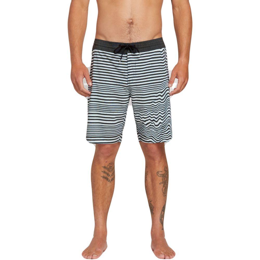 ボルコム Volcom メンズ 水着・ビーチウェア 海パン【Aura Stoney 19in Boardshorts】Black/White