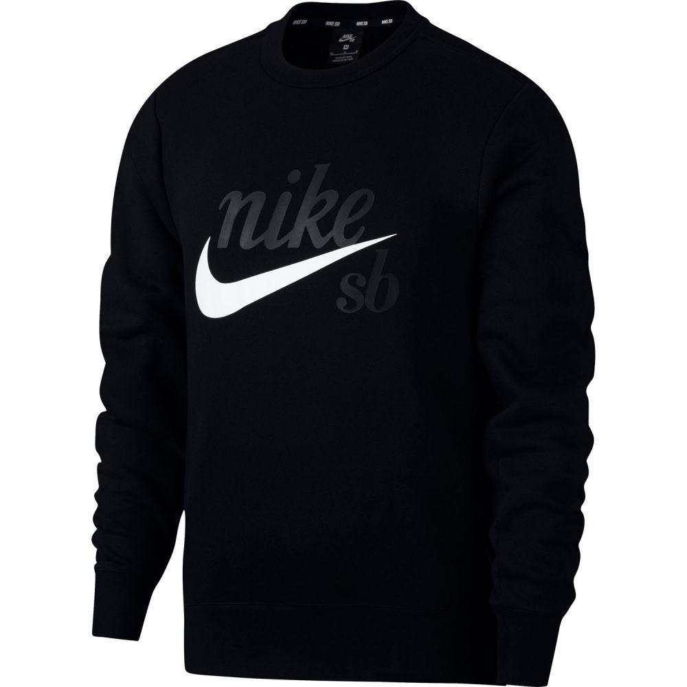ナイキ Nike メンズ トップス スウェット・トレーナー【SB Icon Sweatshirt】Black/White 2