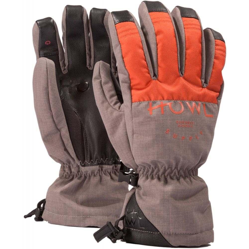 ハウル Howl メンズ スキー・スノーボード グローブ【Team Gloves 2019】Orange