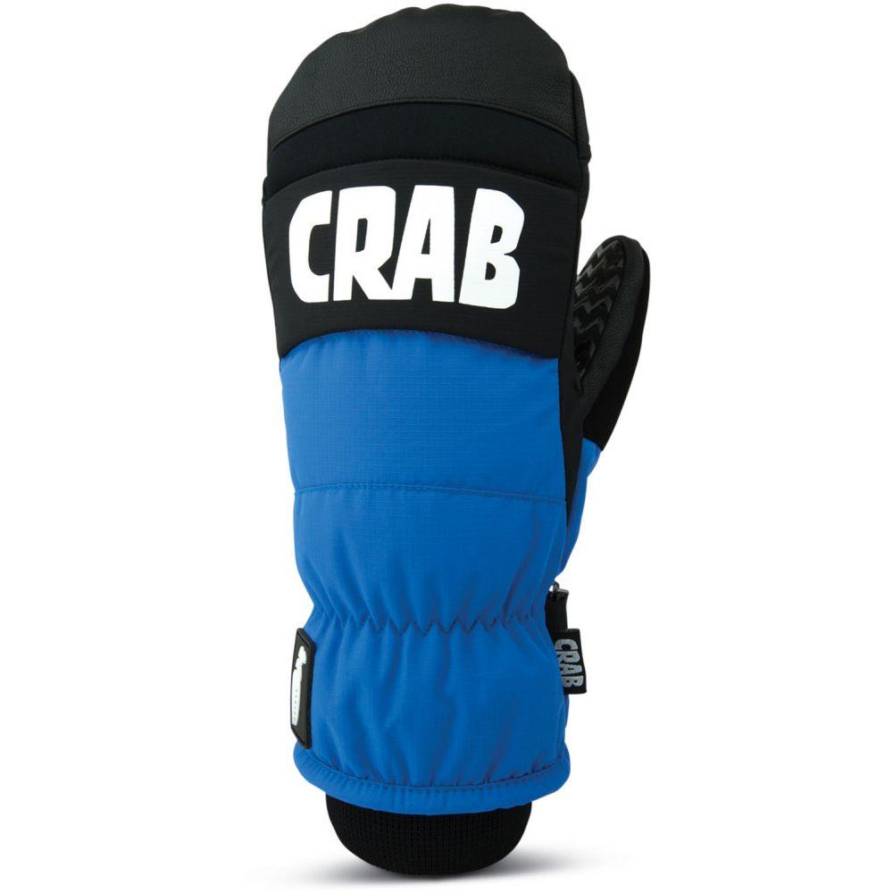 クラブグラッブ Crab Grab メンズ スキー・スノーボード グローブ【Punch Mittens 2019】Blue