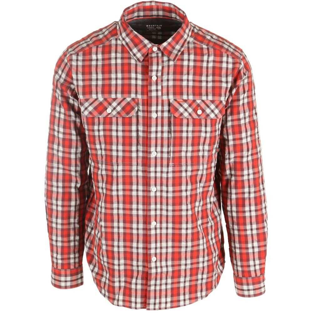 マウンテンハードウェア Mountain Hardwear メンズ トップス シャツ【Canyon AC L/S Shirt】Dark Fire