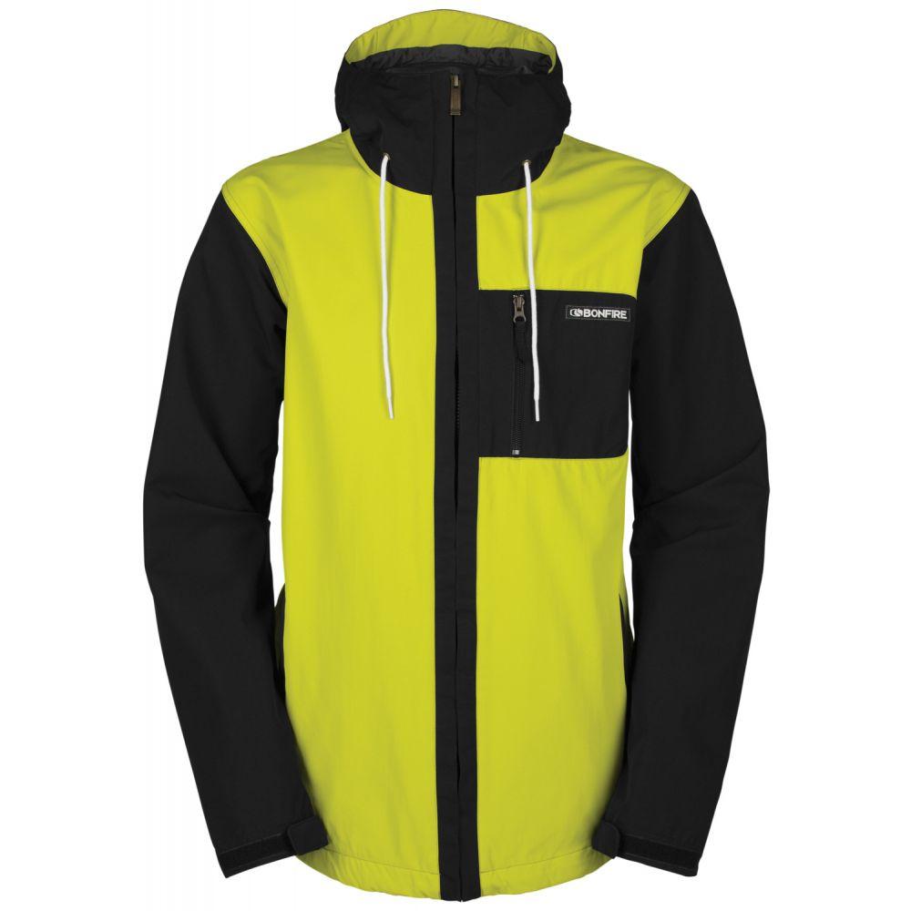 ボンファイヤー Bonfire メンズ スキー・スノーボード アウター【Wallace Snowboard Jacket】Black/Hazard