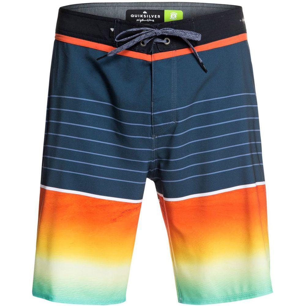 クイックシルバー Quiksilver メンズ 水着・ビーチウェア 海パン【Highline Slab 20 Boardshorts】Ebony