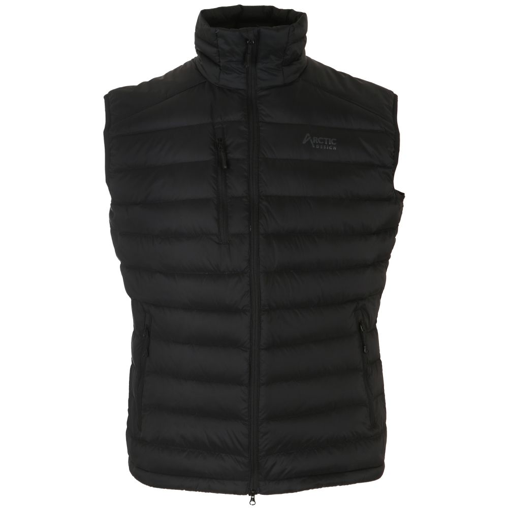 アークティックデザイン Arctic Design メンズ スキー・スノーボード トップス【Reskow Down Vest】Black