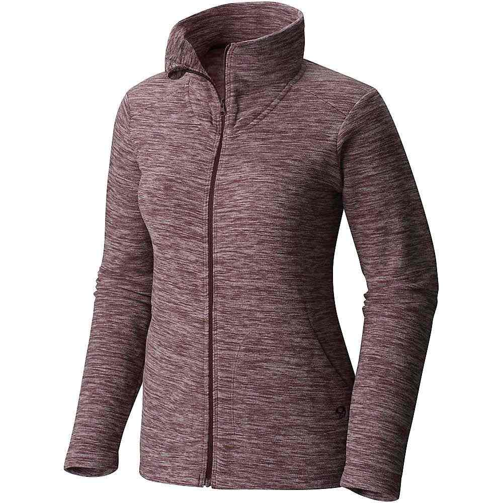 マウンテンハードウェア Mountain Hardwear レディース スキー・スノーボード トップス【Snowpass Full-Zip Fleece】Heather Purple Plum