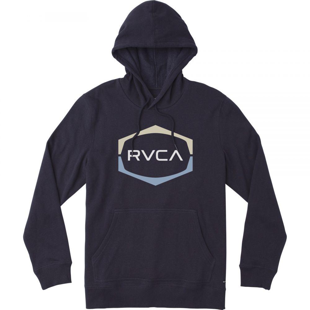 ルーカ RVCA メンズ スキー・スノーボード トップス【Dayshift Logo Hoodie】New Navy