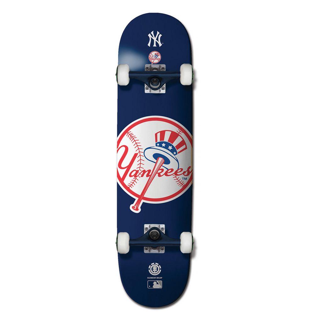 エレメント Element メンズ スケートボード ボード・板【MLB Yankees Skateboard Complete】