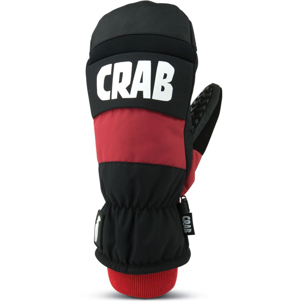 クラブグラッブ Crab Grab メンズ スキー・スノーボード グローブ【Punch Mittens 2019】Red