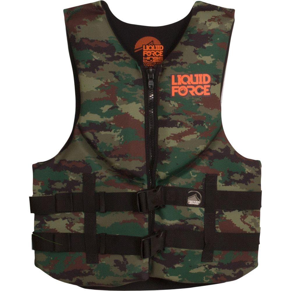 リキッドフォース Liquid Force メンズ トップス【Hinge CGA Wakeboard Vest】Classic Print Camo