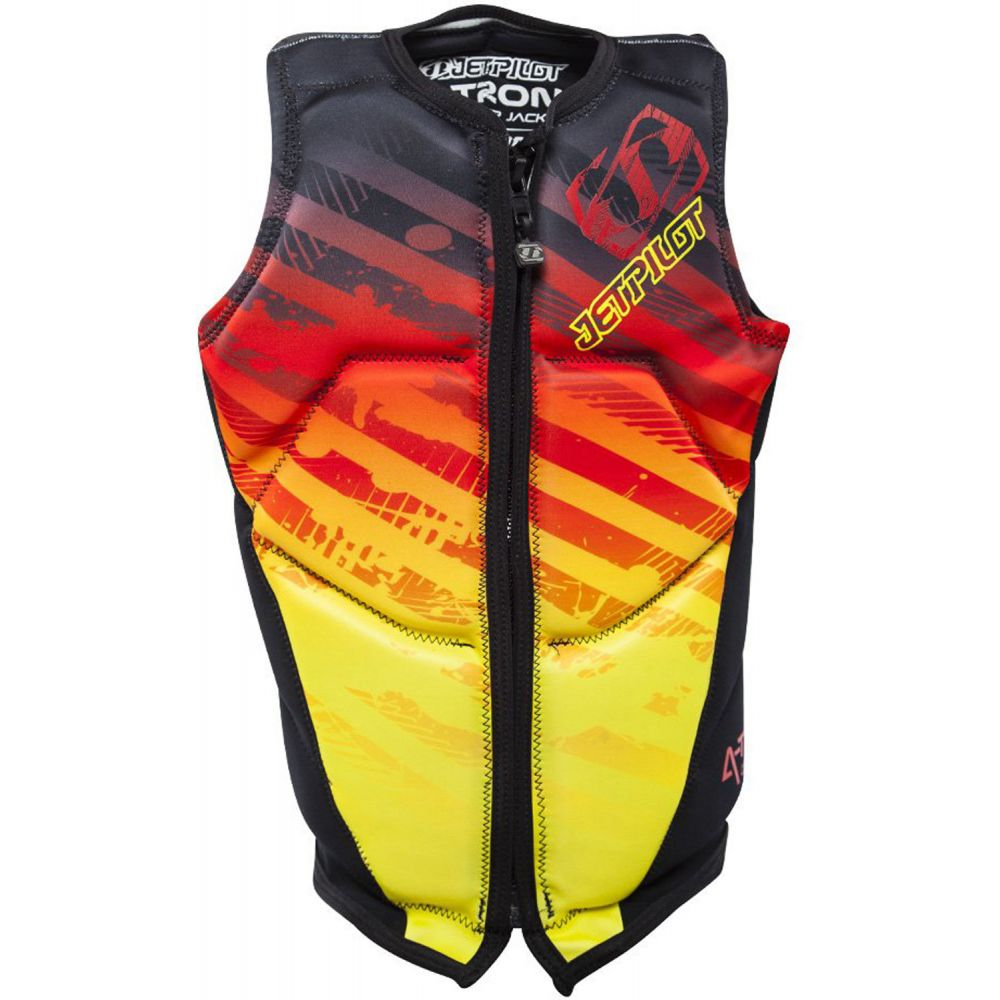 ジェットパイロット Jet Pilot メンズ トップス【A-Tron Front Zip Comp NCGA Wakeboard Vest】Fire