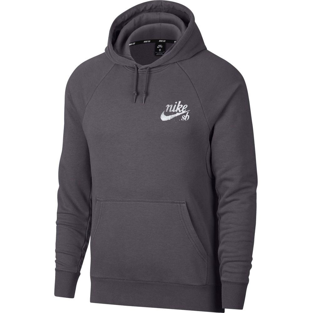 ナイキ Nike メンズ スキー・スノーボード トップス【SB Icon PO Hoodie】Black/Dark Grey/White