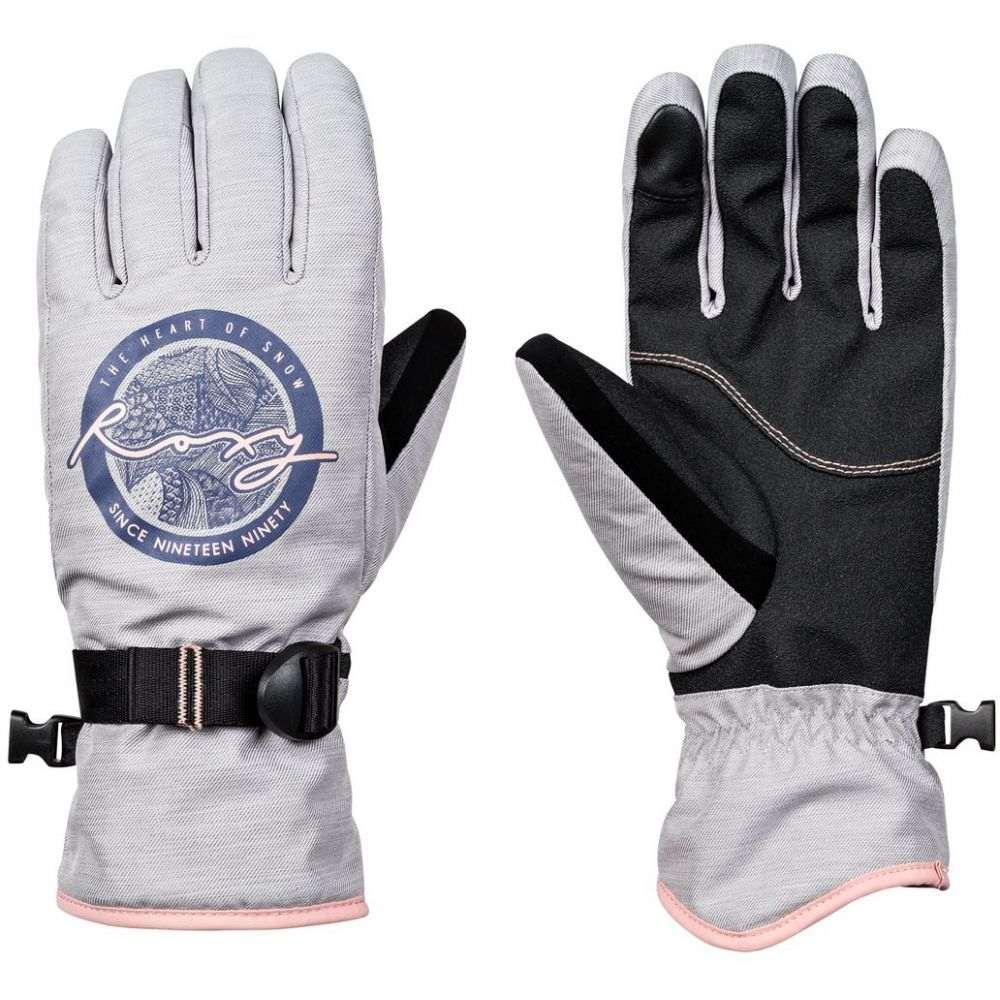 ロキシー Roxy レディース スキー・スノーボード グローブ【Freshfield Gloves 2019】Warm Heather Grey