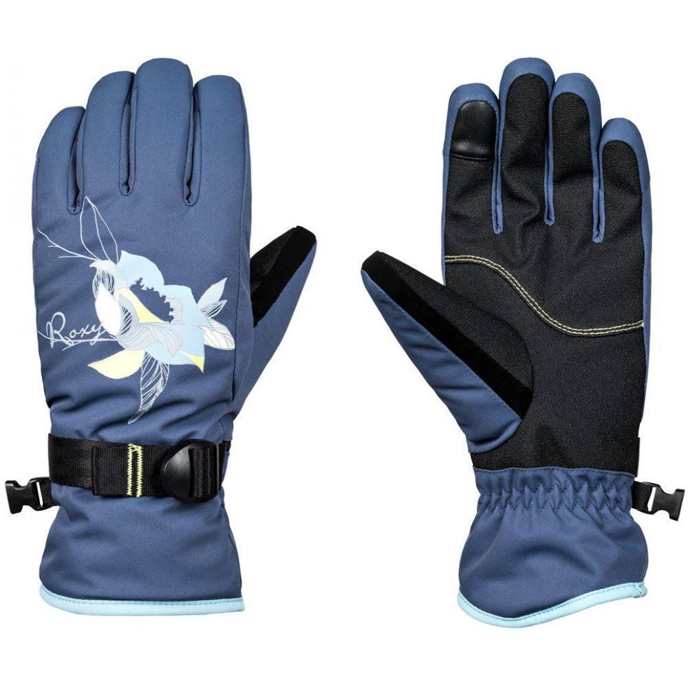 ロキシー Roxy レディース スキー・スノーボード グローブ【Freshfield Gloves 2019】Crown Blue