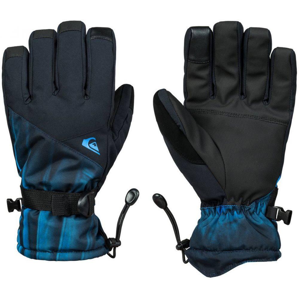 クイックシルバー Quiksilver メンズ スキー・スノーボード グローブ【Mission Gloves 2019】Daphne Blue Stellar