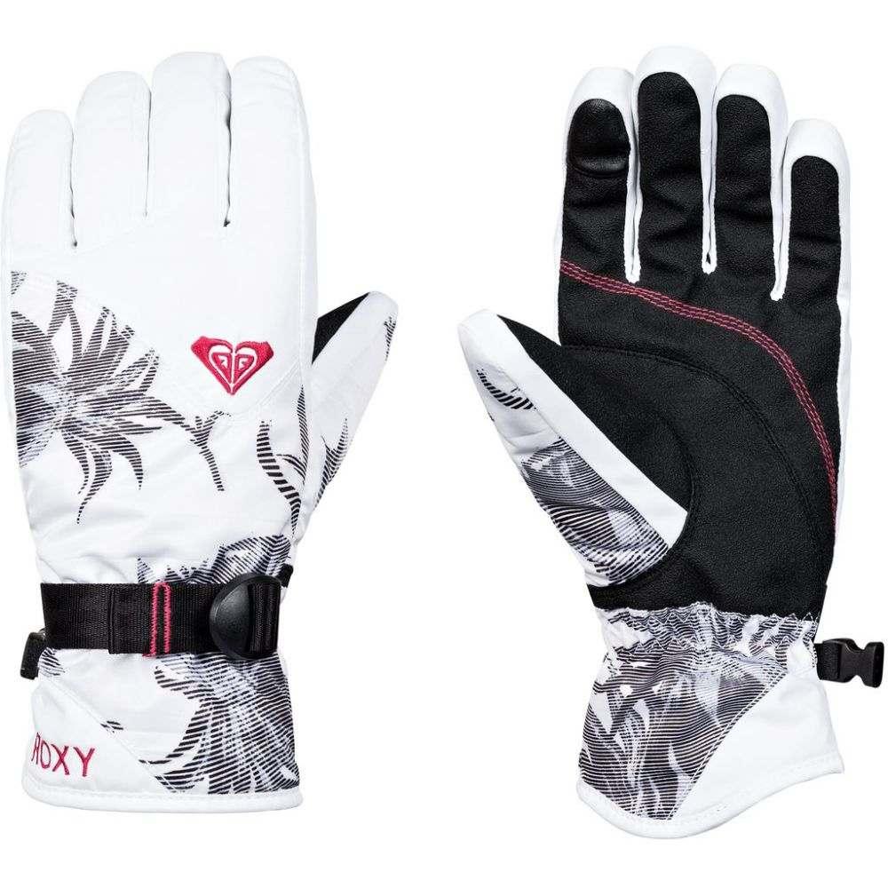 ロキシー Roxy レディース スキー・スノーボード グローブ【Jetty Gloves 2019】Bright White/Swell Flowers