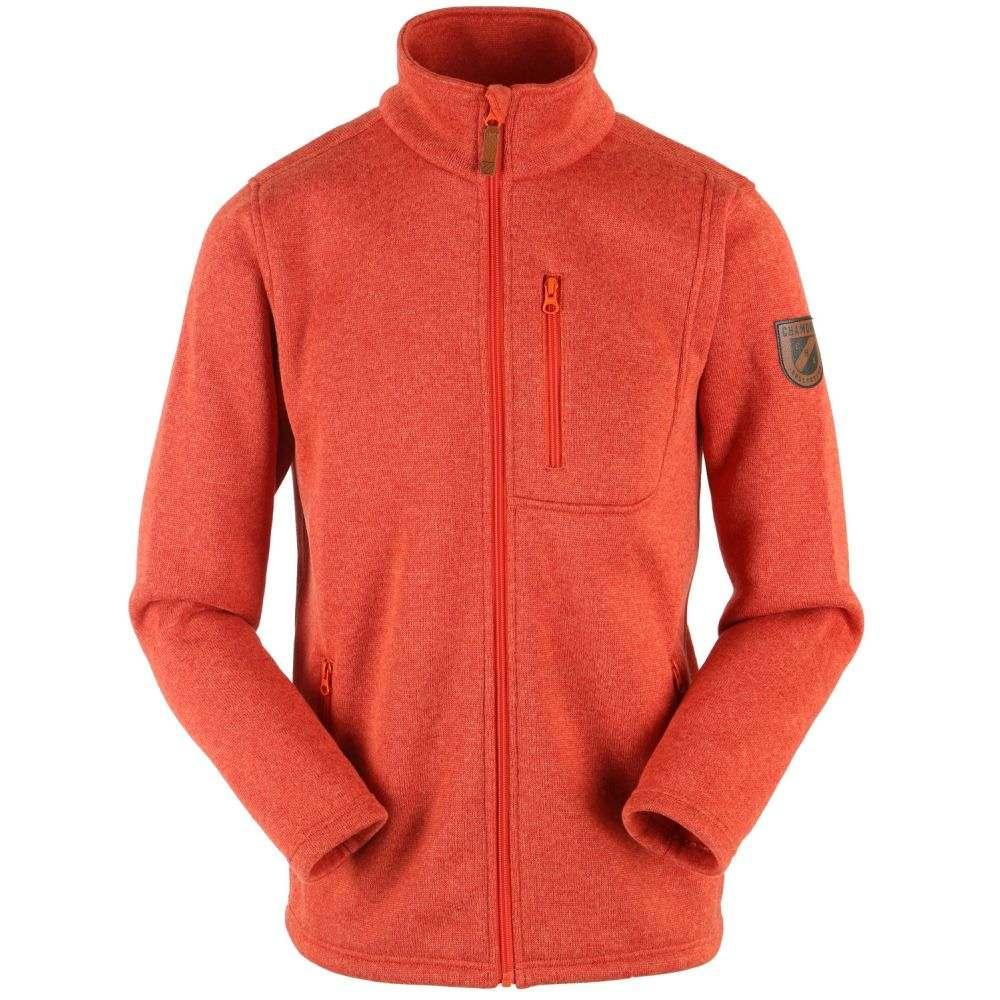 シャモニー Chamonix メンズ スキー・スノーボード トップス【Trevoux Fleece 2019】Brick Orange