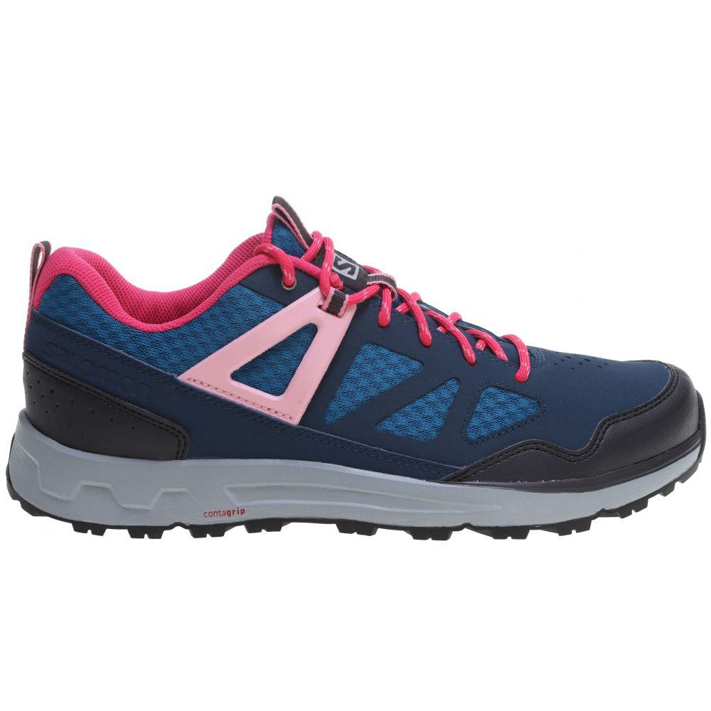 サロモン Salomon レディース ハイキング・登山 シューズ・靴【Instinct Pro Hiking Shoes】Darkness Blue/Fjord/Sakura Pink