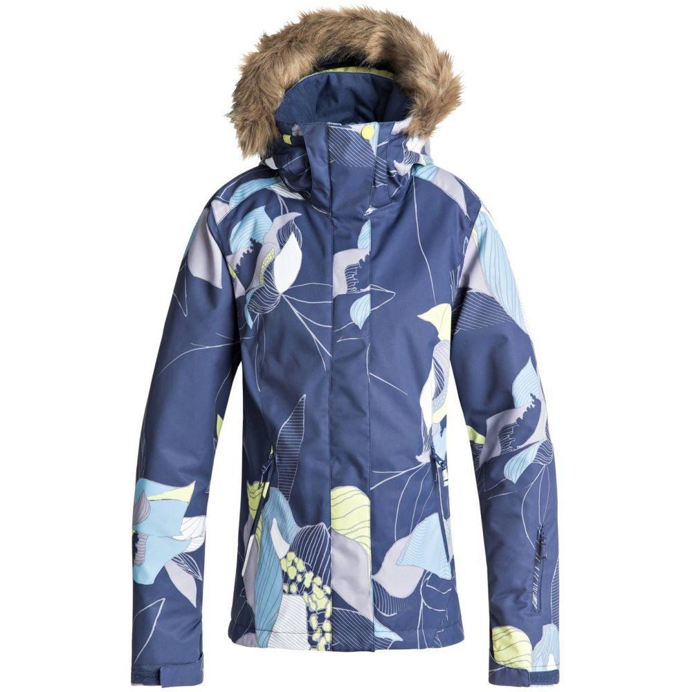 ロキシー Roxy レディース スキー・スノーボード アウター【Jet Ski Snowboard Jacket】Crown Blue/Bold Petal