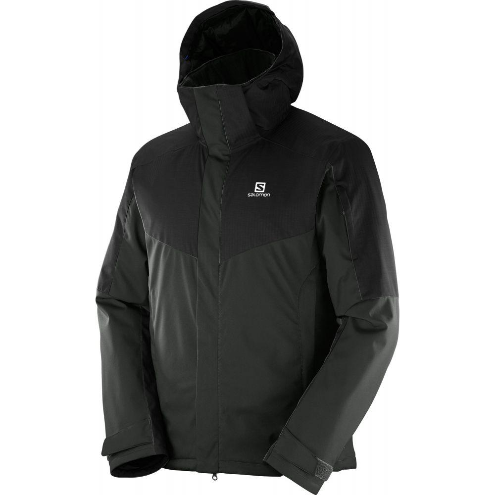 サロモン Salomon メンズ スキー・スノーボード アウター【Stormpulse Ski Jacket】Black/Asphalt