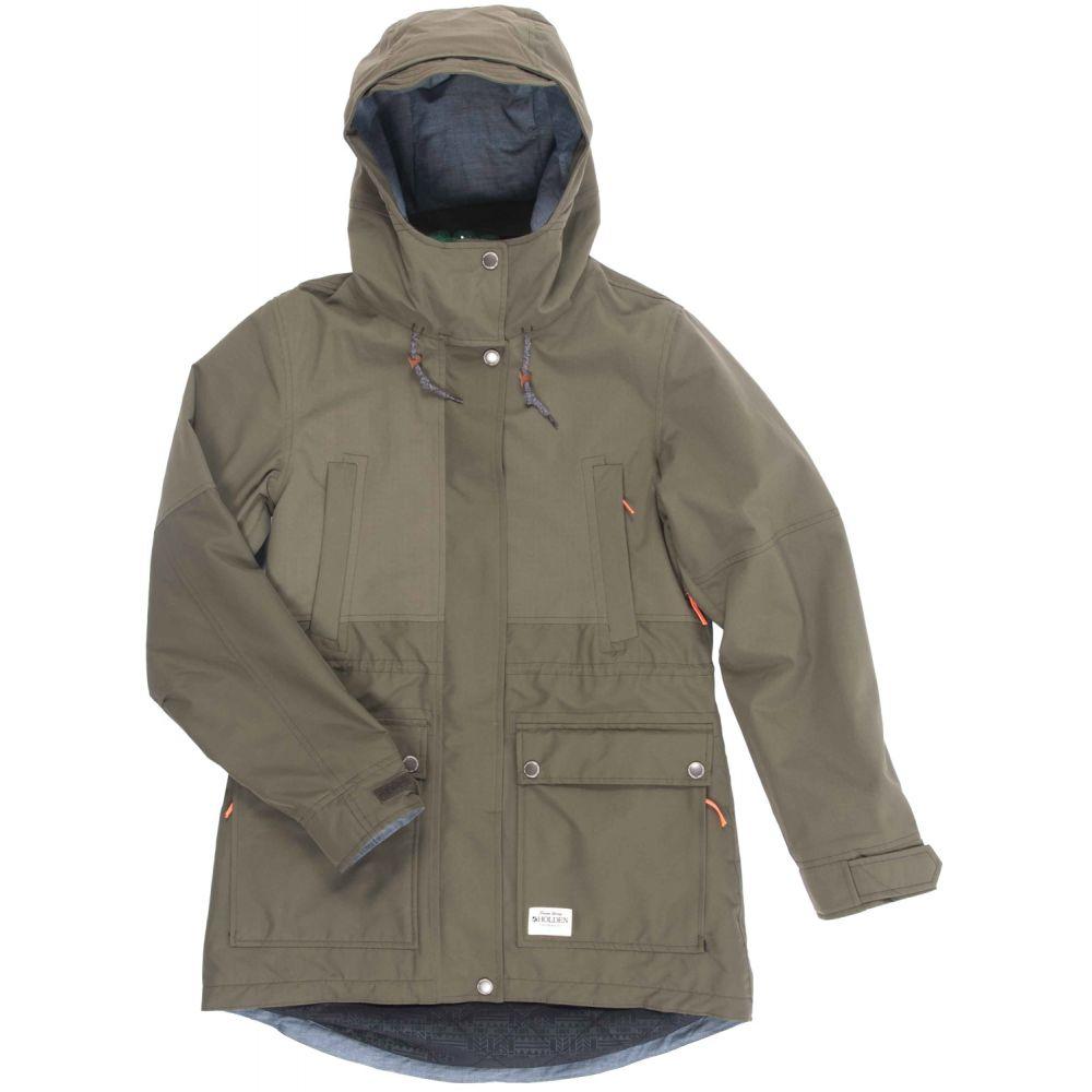 ホールデン Holden レディース スキー・スノーボード アウター【Shelter Snowboard Jacket】Olive