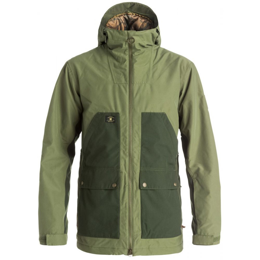 ディーシー DC メンズ スキー・スノーボード アウター【Summit Snowboard Jacket】Four Leaf Clover