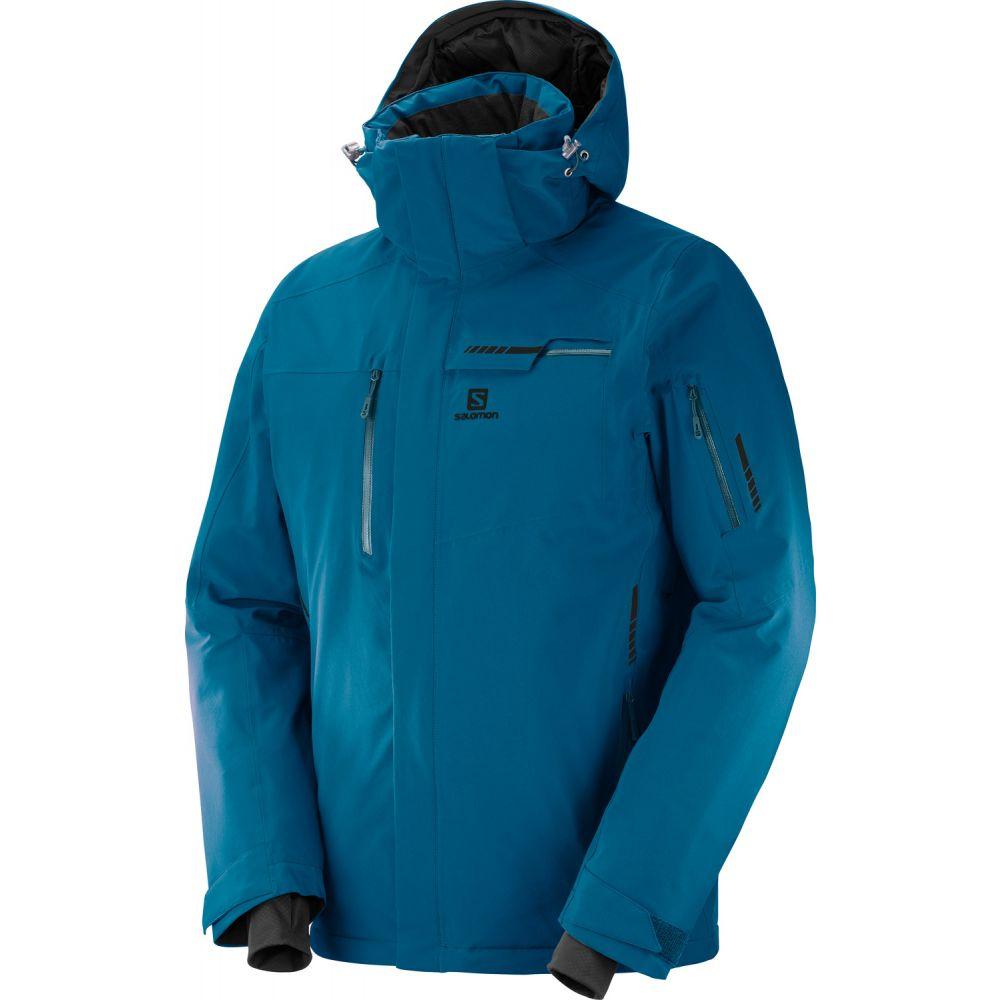 サロモン Salomon メンズ スキー・スノーボード アウター【Brilliant Ski Jacket】Moroccan Blue