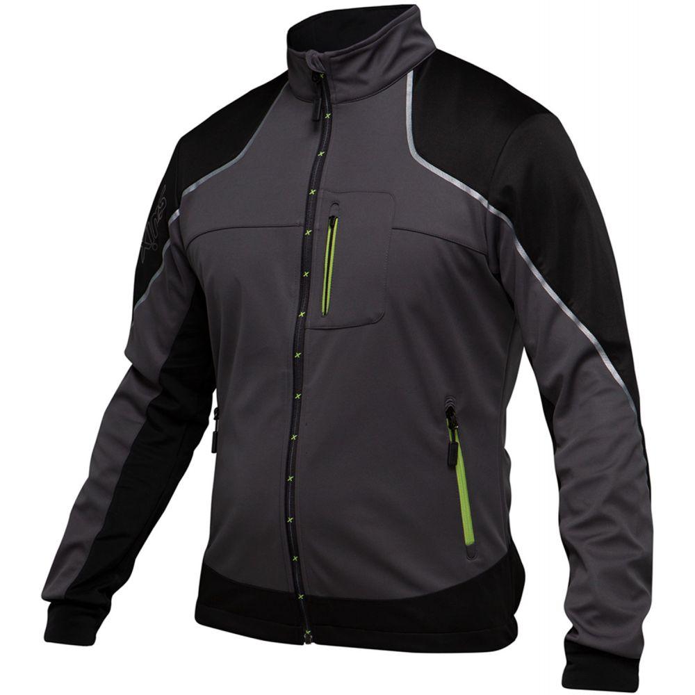スウィックス Swix メンズ スキー・スノーボード アウター【Delda Light Softshell XC Ski Jacket】Black