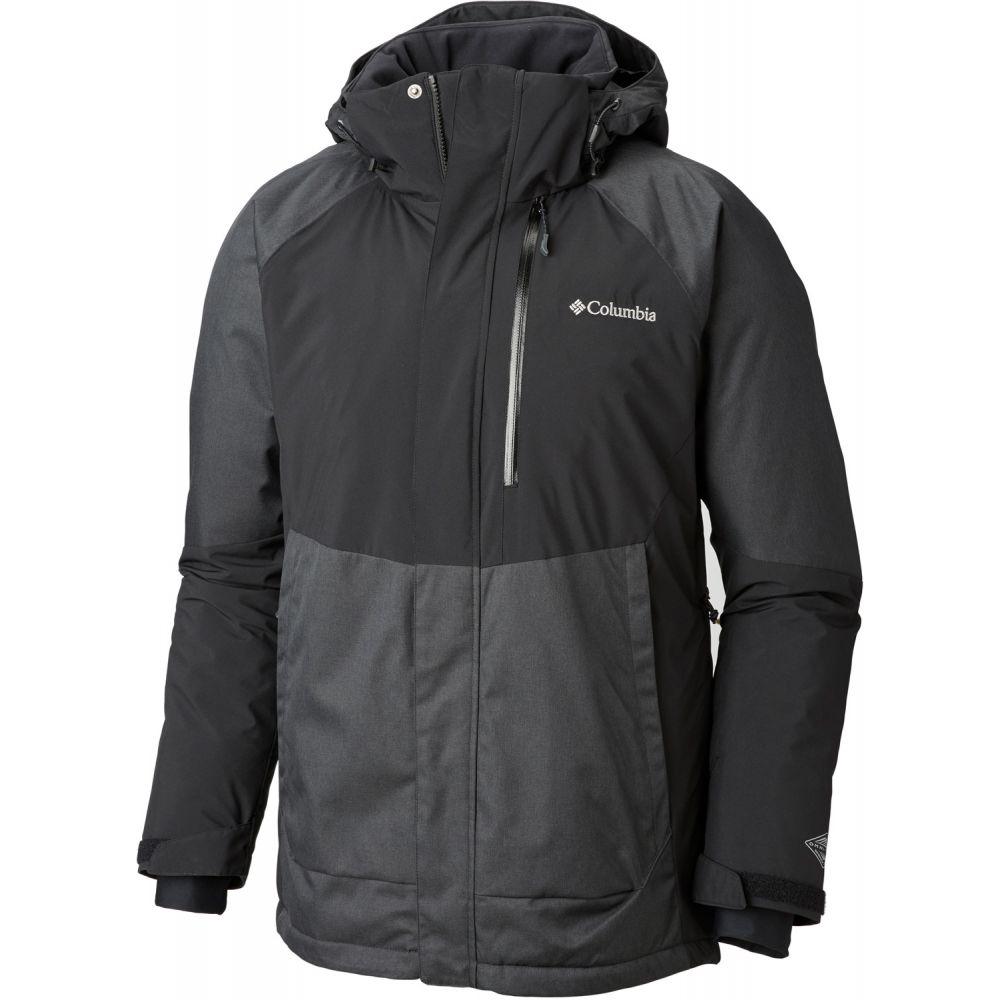 コロンビア Columbia メンズ スキー・スノーボード アウター【Wildside Ski Jacket】Black Charcoal Heather