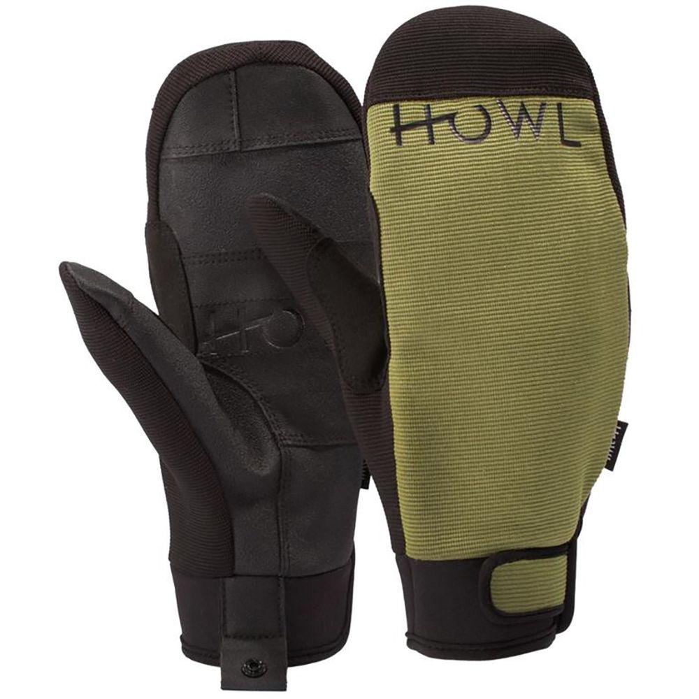 ハウル Howl メンズ スキー・スノーボード グローブ【Jeepster Mittens】Green