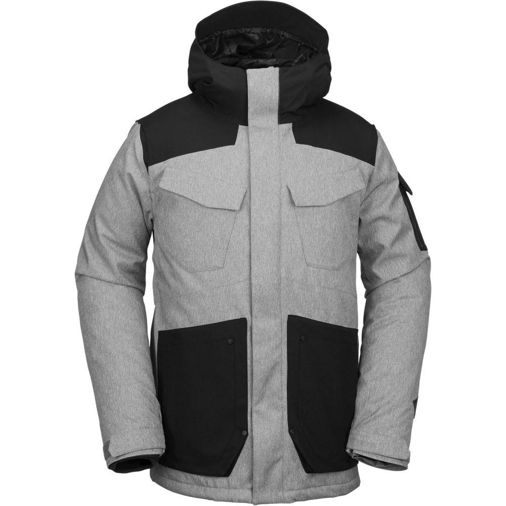 ボルコム Volcom メンズ スキー・スノーボード アウター【VCO Inferno Shell Snowboard Jacket】Heather Grey