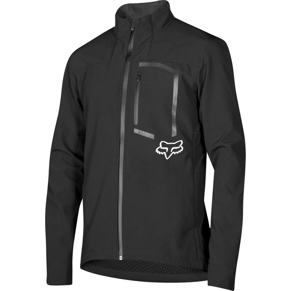 フォックス Fox メンズ 自転車 アウター【Attack Fire Softshell Bike Jacket】Black