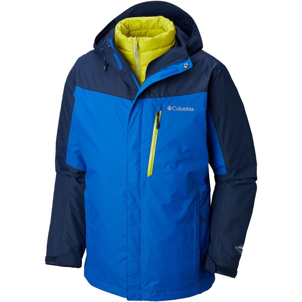 コロンビア Columbia メンズ スキー・スノーボード アウター【Whirlibird III Interchange Ski Jacket】Azul/Collegiate Navy