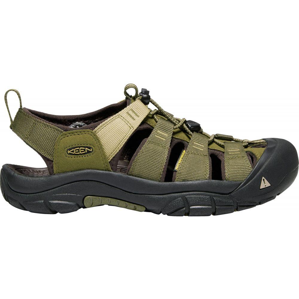 キーン Keen メンズ シューズ・靴 ウォーターシューズ【Newport H2 Water Shoes】Dark Olive/Antique Bronze