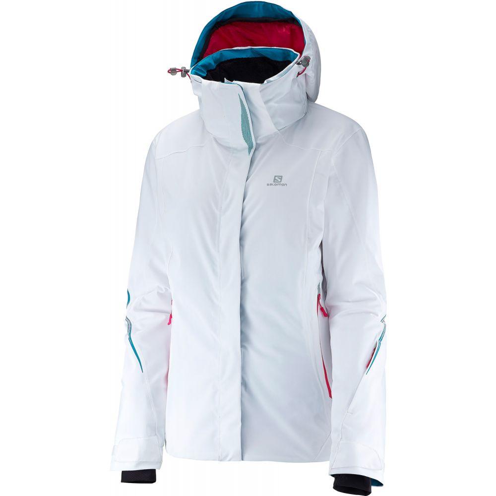 サロモン Salomon レディース スキー・スノーボード アウター【Brilliant Ski Jacket】White