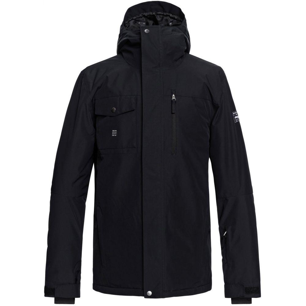 クイックシルバー Quiksilver メンズ スキー・スノーボード アウター【Mission Solid Snowboard Jacket】Black