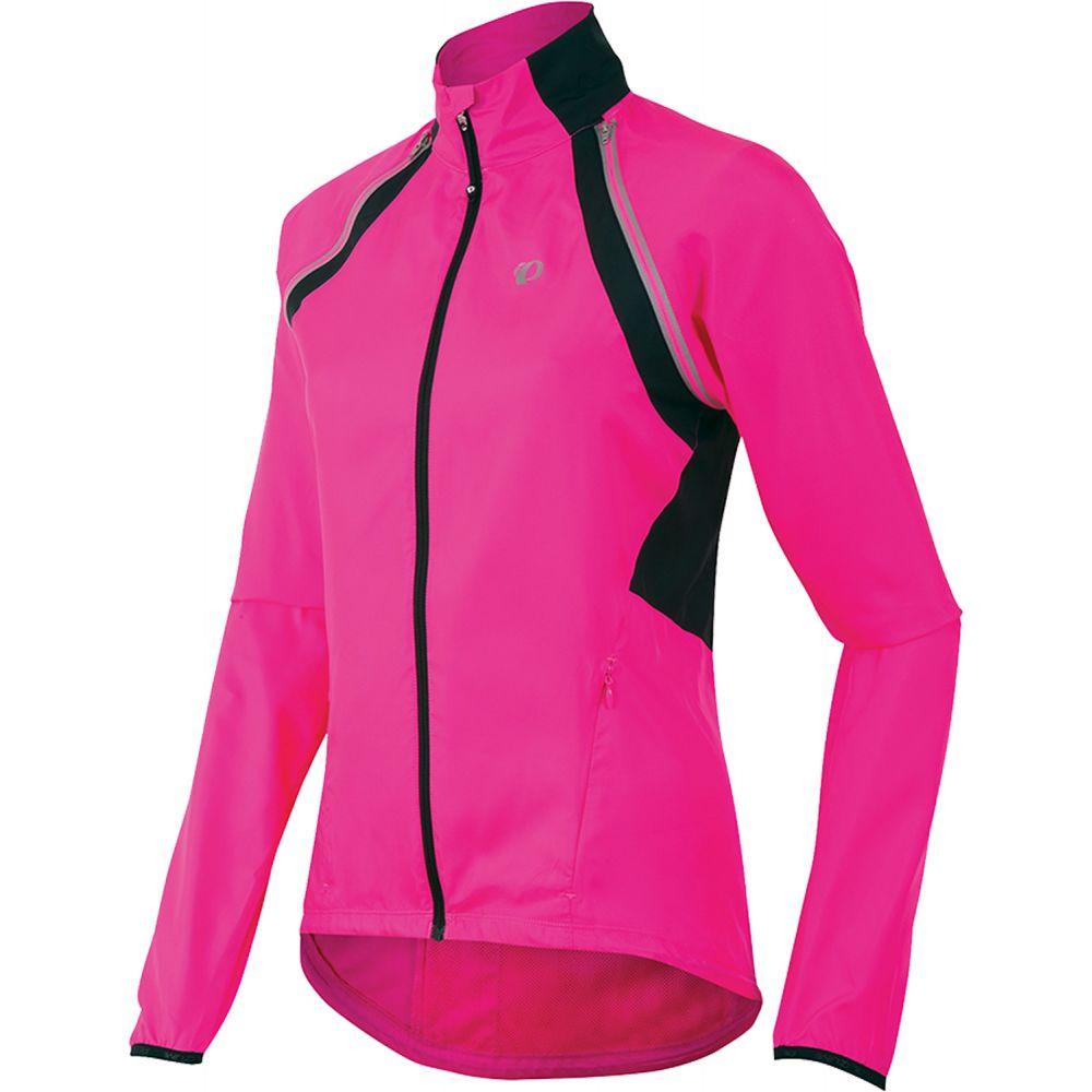 パールイズミ Pearl Izumi レディース 自転車 アウター【Elite Escape Convertible Bike Jacket】Screaming Pink