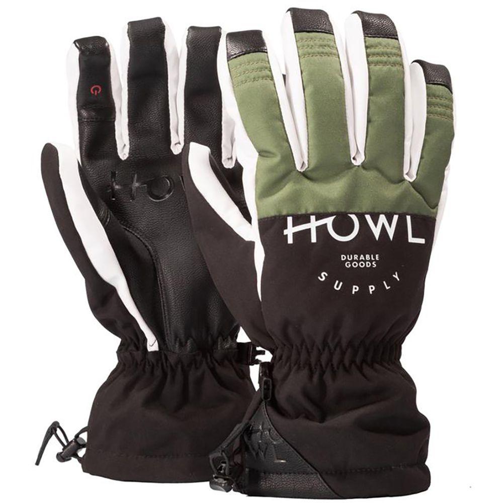 ハウル Howl メンズ スキー・スノーボード グローブ【Team Gloves】Olive
