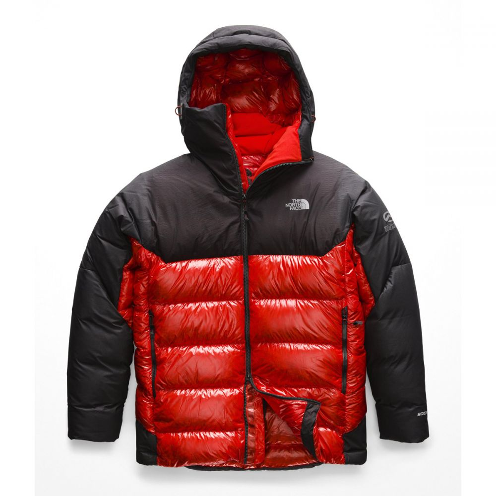 ザ ノースフェイス The North Face メンズ スキー・スノーボード アウター【Summit Expedition L6 AW Down Belay Parka Ski Jacket】Fiery Red/TNF Black
