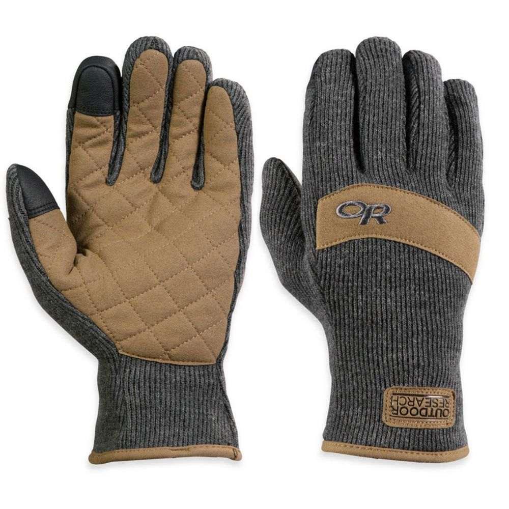 アウトドアリサーチ Outdoor Research メンズ スキー・スノーボード グローブ【Exit Sensor Gloves】Charcoal