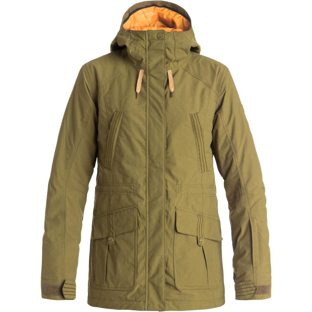 ロキシー Roxy レディース スキー・スノーボード アウター【Tribe Snowboard Jacket】Military Olive