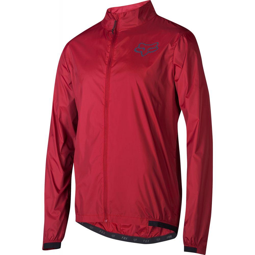 フォックス Fox メンズ 自転車 アウター【Attack Wind Bike Jacket】Cardinal