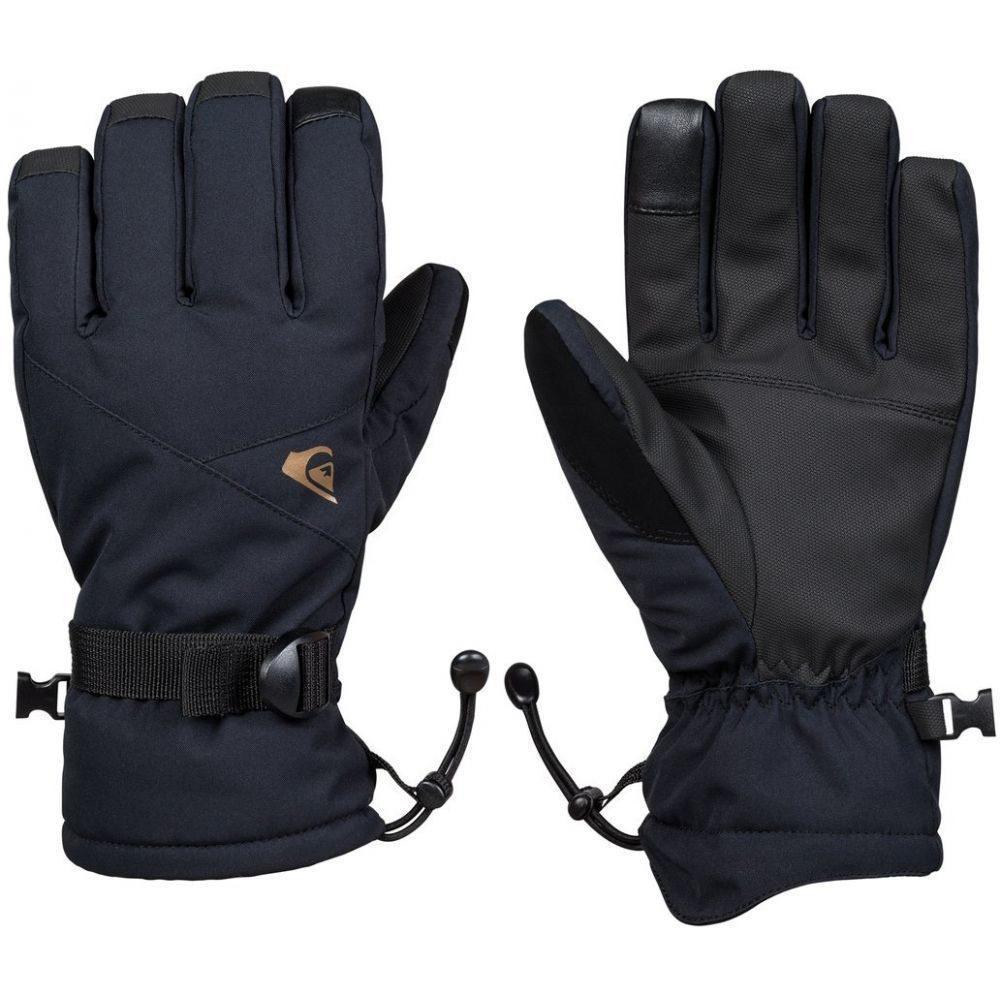 クイックシルバー Quiksilver メンズ スキー・スノーボード グローブ【Mission Gloves】Black