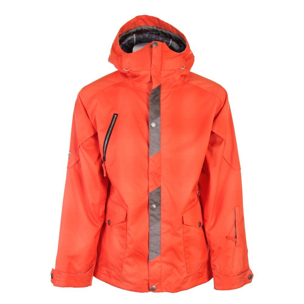 カペル Cappel メンズ スキー・スノーボード アウター【Cambridge Snowboard Jacket】Orange Blurred Plaid