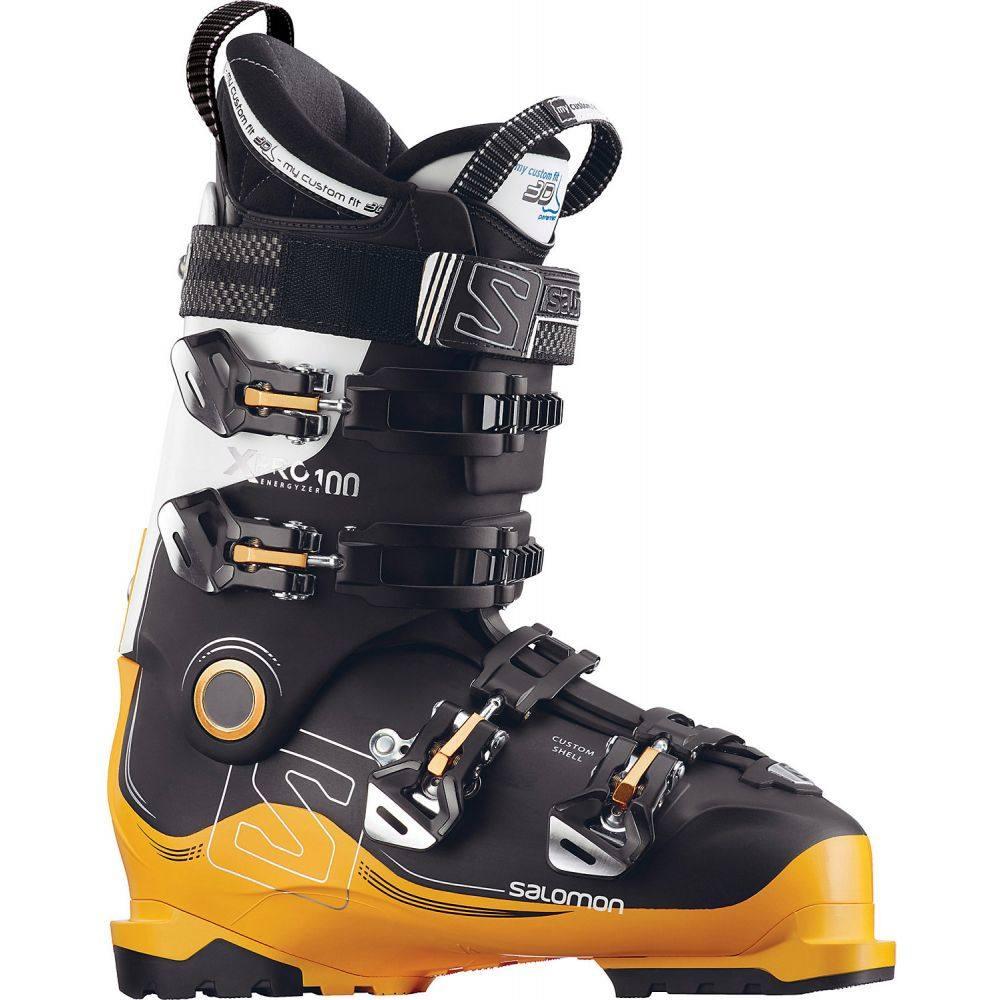 サロモン Salomon メンズ スキー・スノーボード シューズ・靴【X Pro 100 Ski Boots】Black/Safran