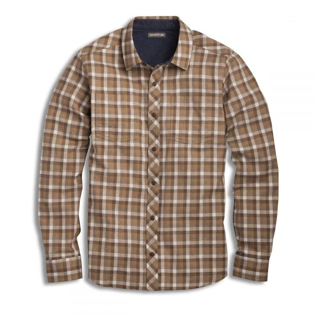 トードアンドコー Toad & Co メンズ トップス シャツ【Flannagan L/S Shirt】Dark Chino