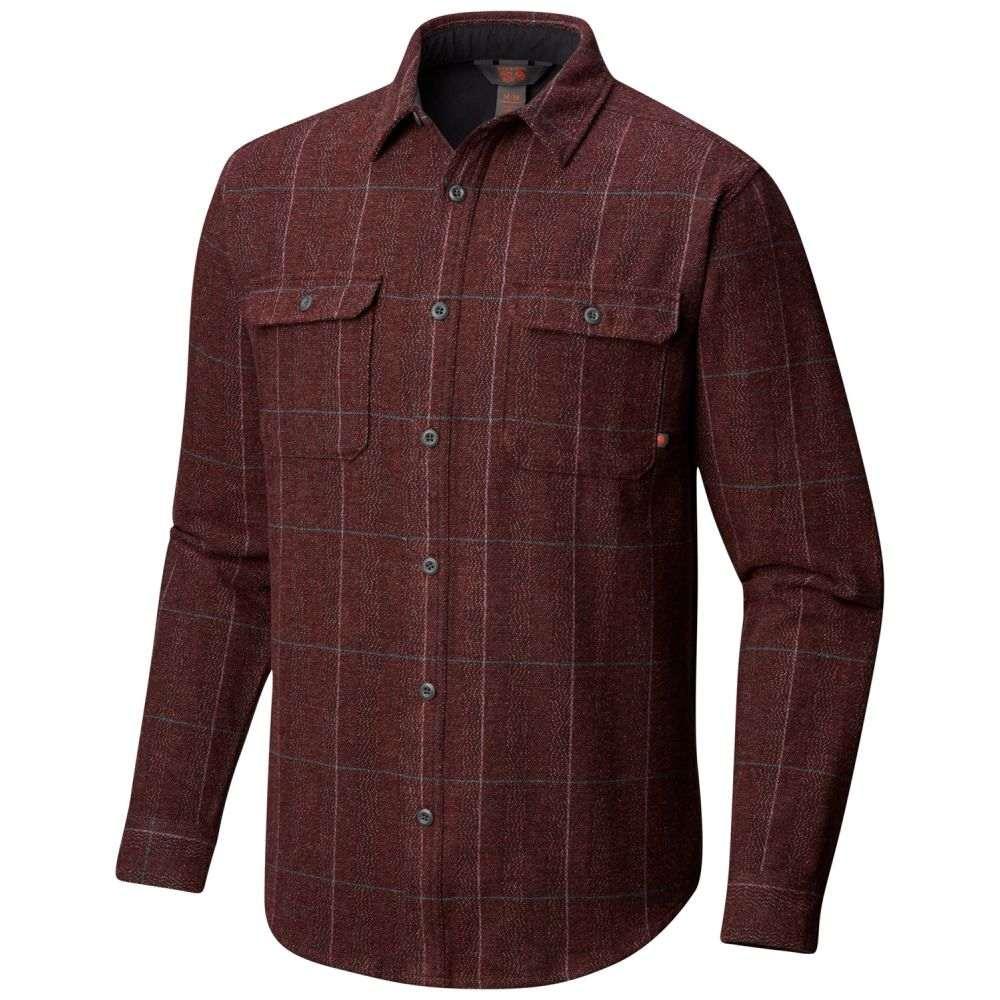 マウンテンハードウェア Mountain Hardwear メンズ トップス シャツ【Walcott L/S Flannel】Woodsmoke