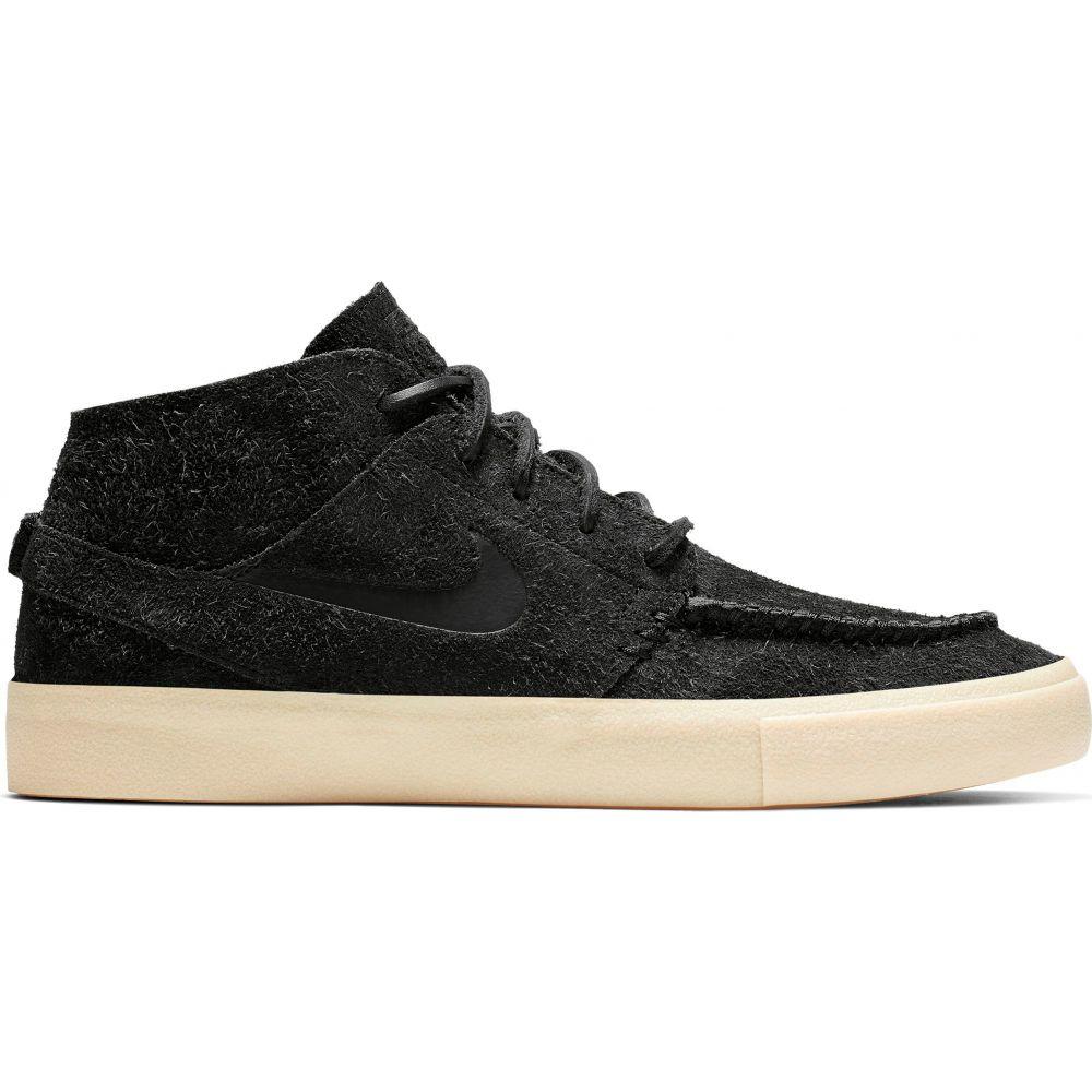 ナイキ Nike メンズ スケートボード シューズ・靴【SB Zoom Janoski Mid Crafted Skate Shoes】Black/Black/Golden Beige/Team Gold